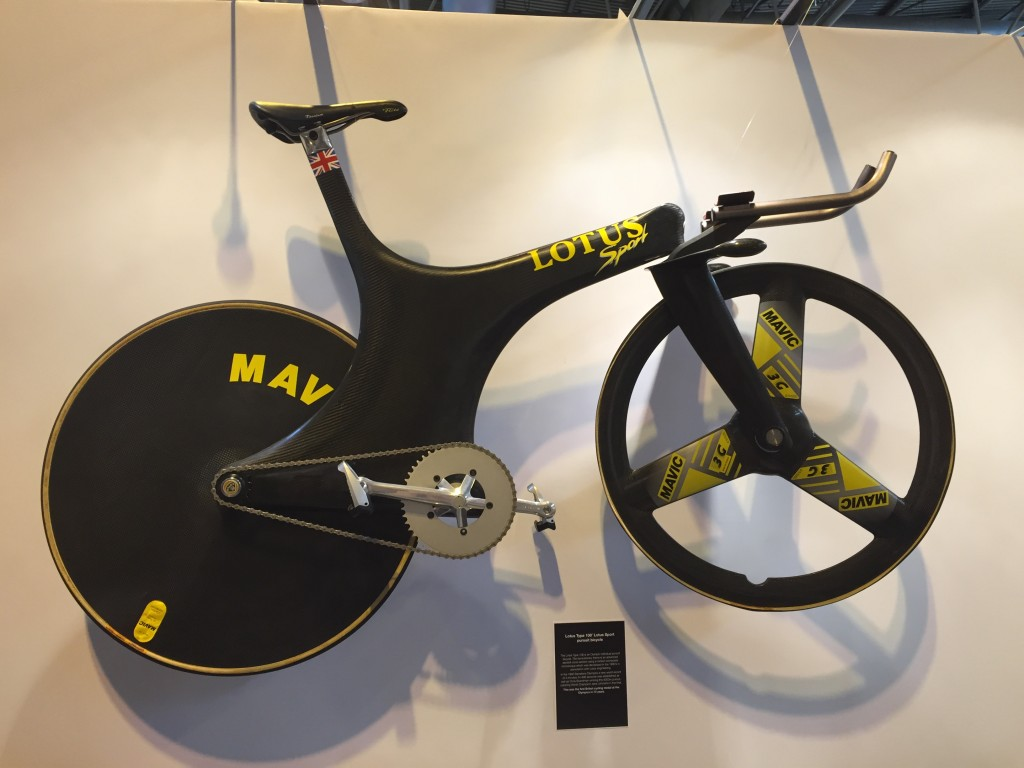 Lotus Type 108 Pursuit Bike - The Cycle Show 2014