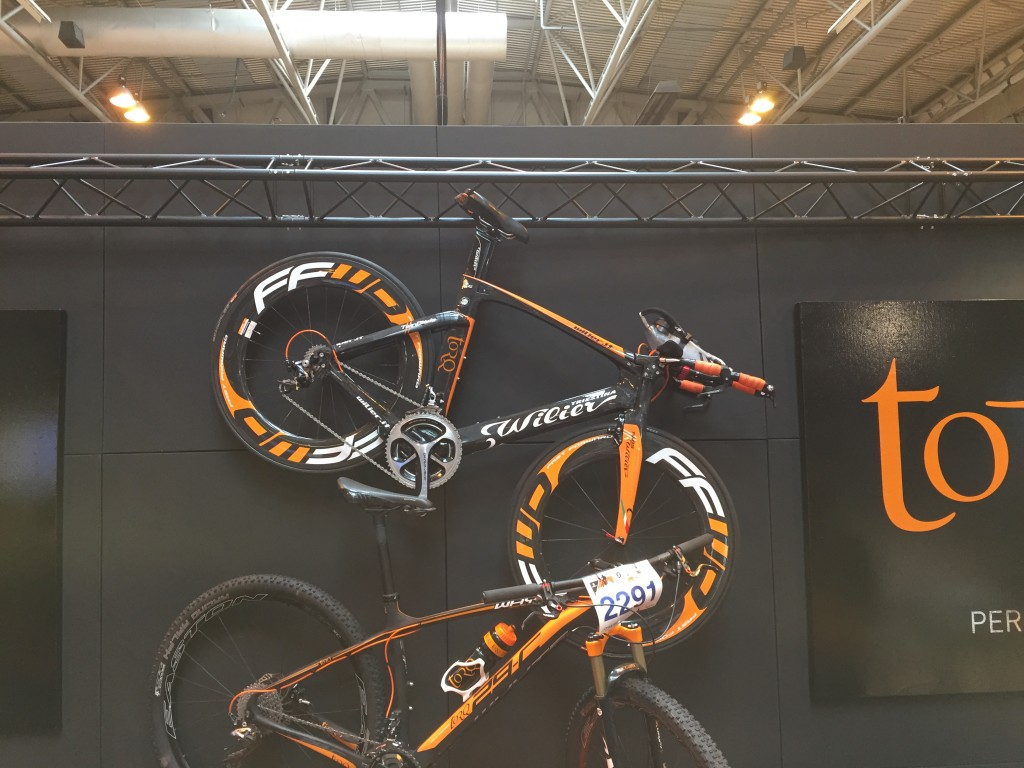 Wilier Twin Blade - The Cycle Show 2014