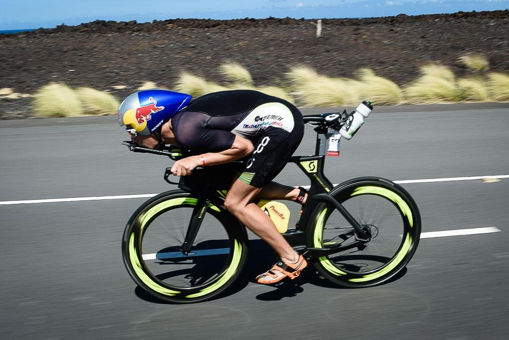 Sebastian Kienle gets Super Aero - Ironman 2014 World Championship