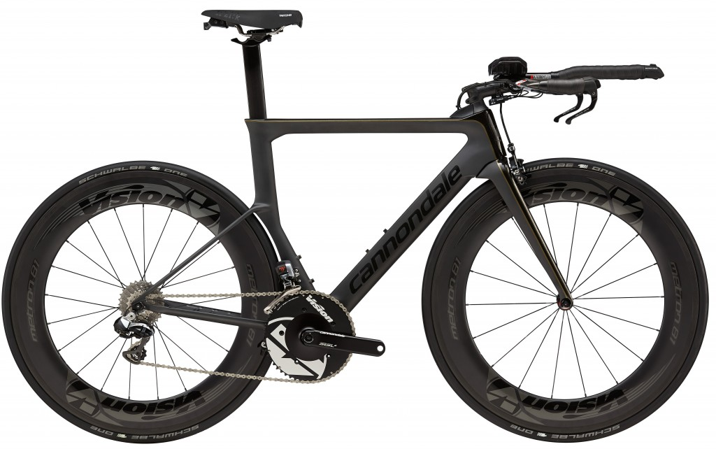 Cannondale Slice Black Inc Triathlon Bike