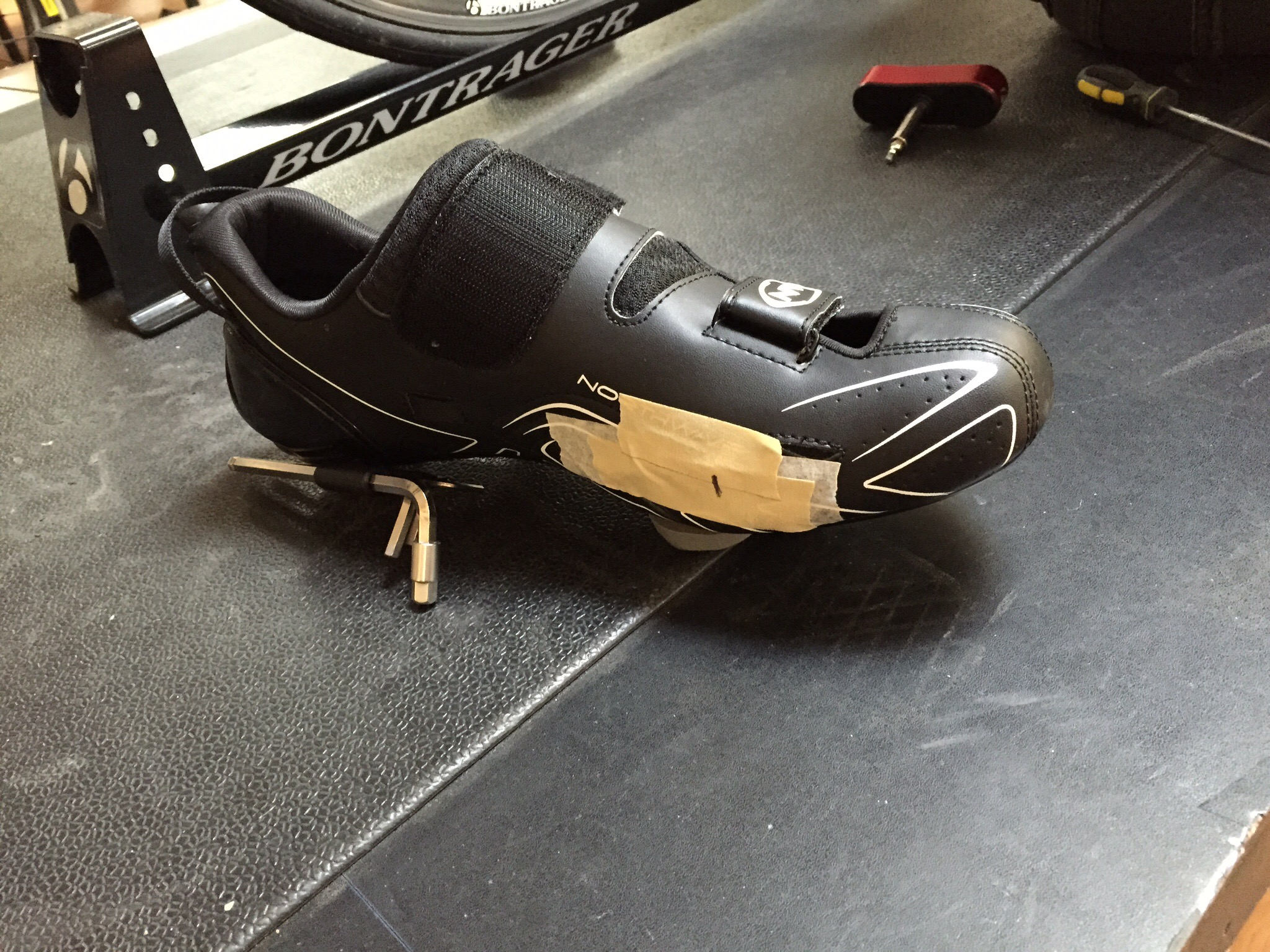 Bike fit cleat adjustment