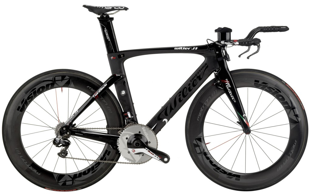 Wilier Twin Blade Triathlon Bike