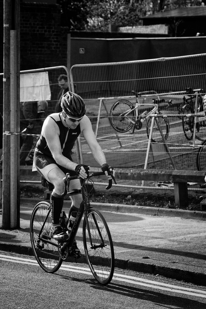 Halesowen Triathlon 2015 - Triathlete Bike