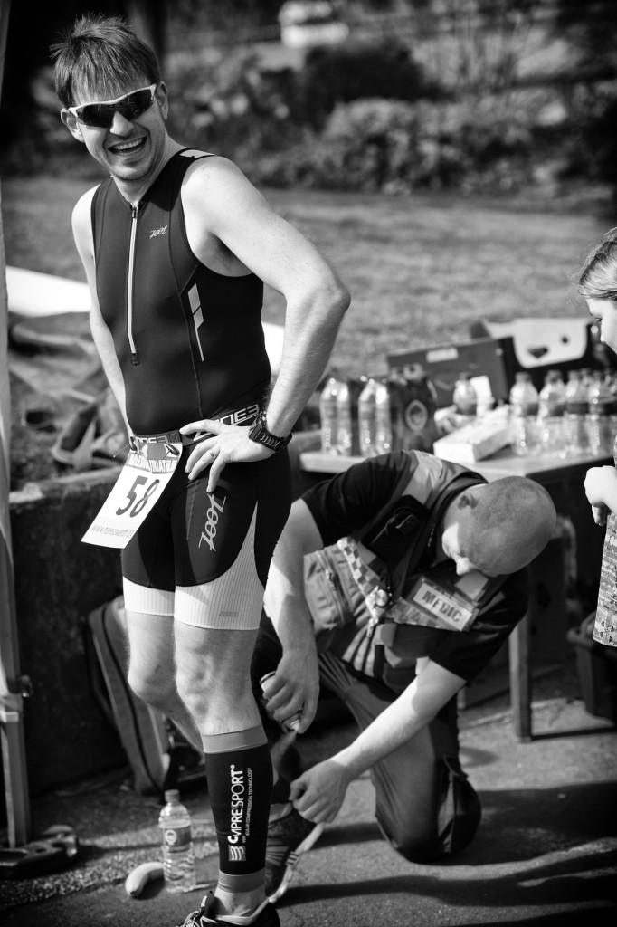 Halesowen Triathlon 2015 - Triathlete Medic