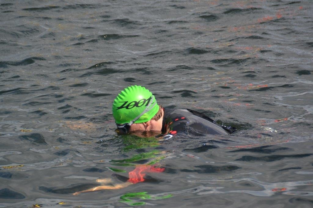 Triathlon England Open Water Training Day - How To Breathe in practice