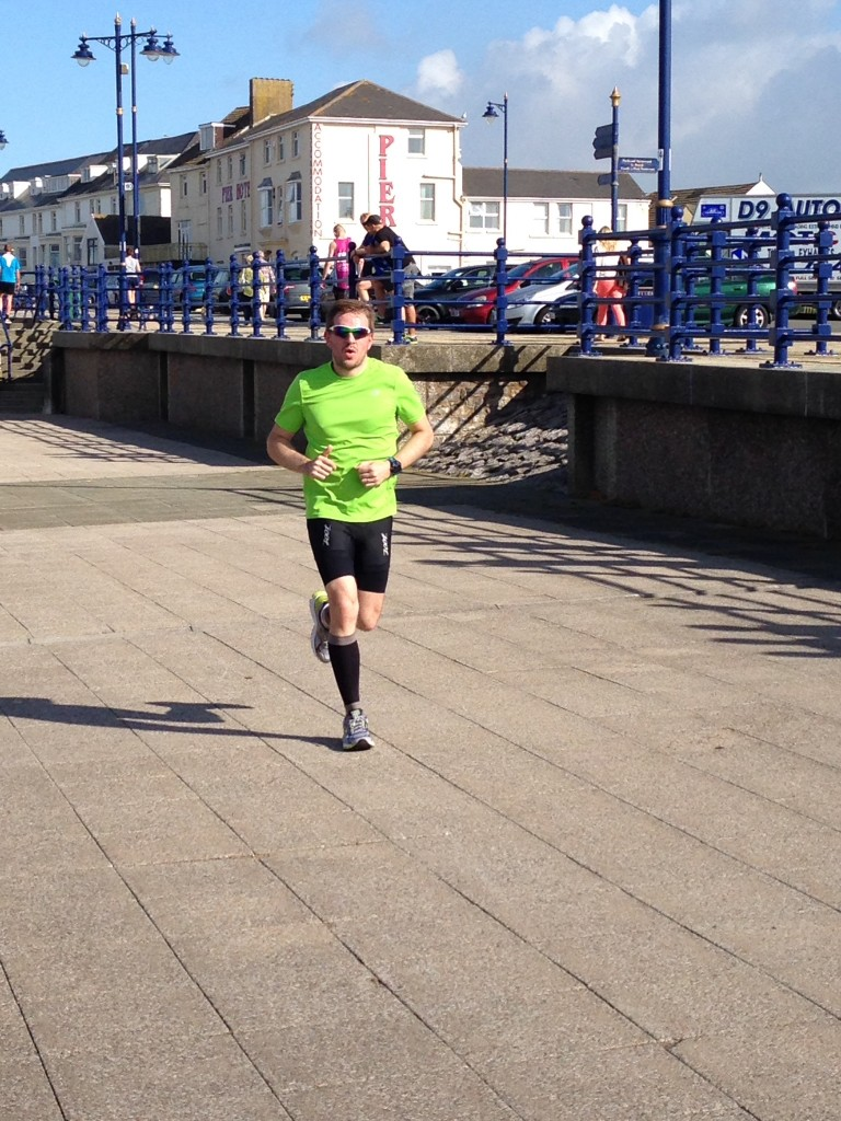 Scott McKenzie - Porthcawl Parkrun August 15th 2015 - Photo Emma Barraclough