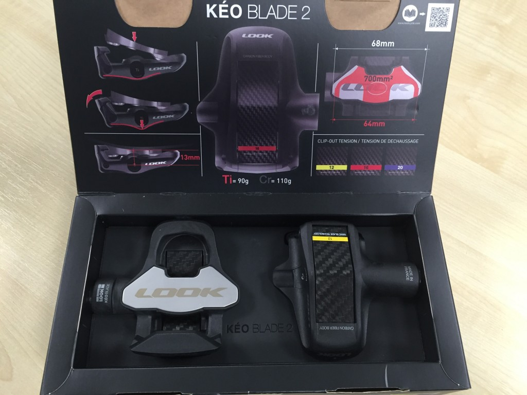 Look Kéo Blade 2 Carbon Pedals - 12nm