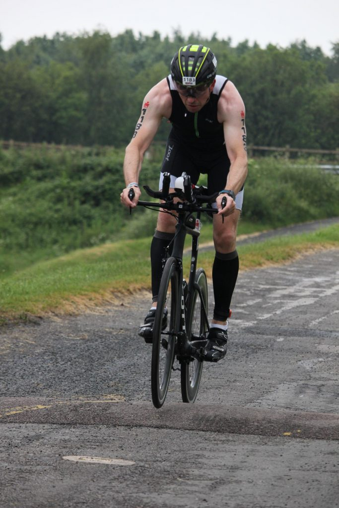 Ironman 70.3 Staffordshire 2016 Start of the bike