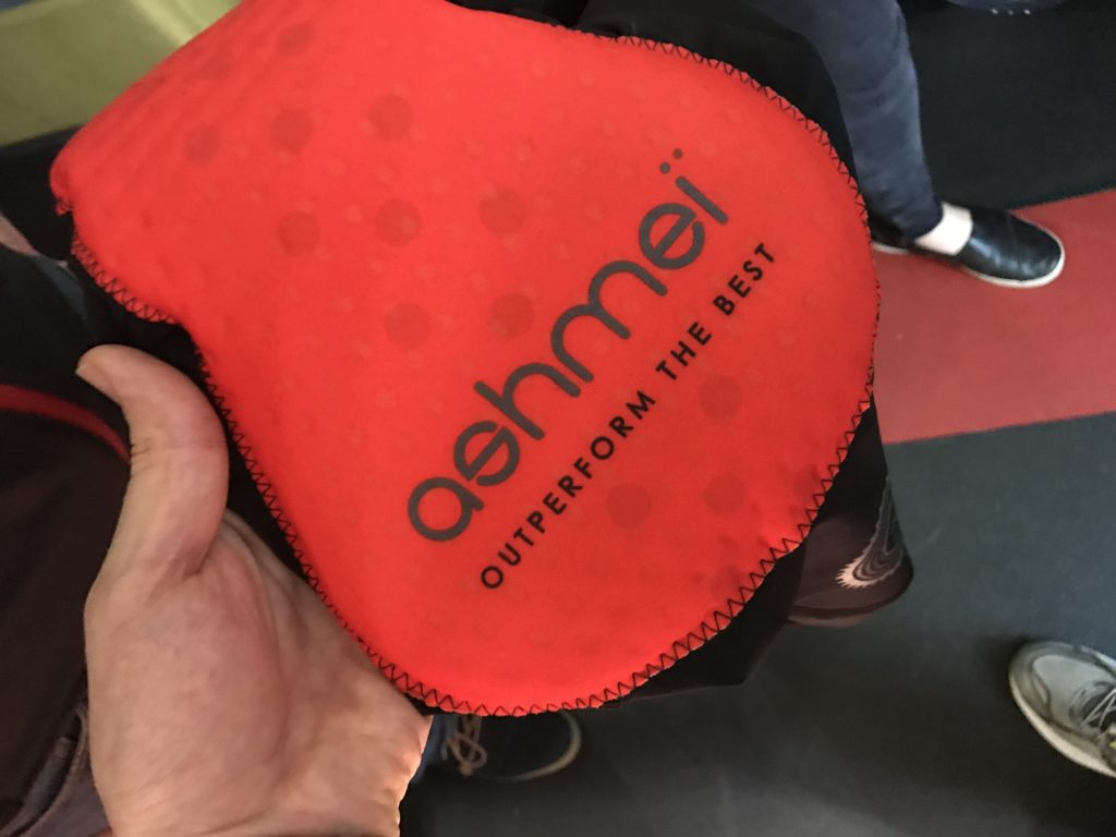 ashmei bib shorts v3 - new squishy padding!