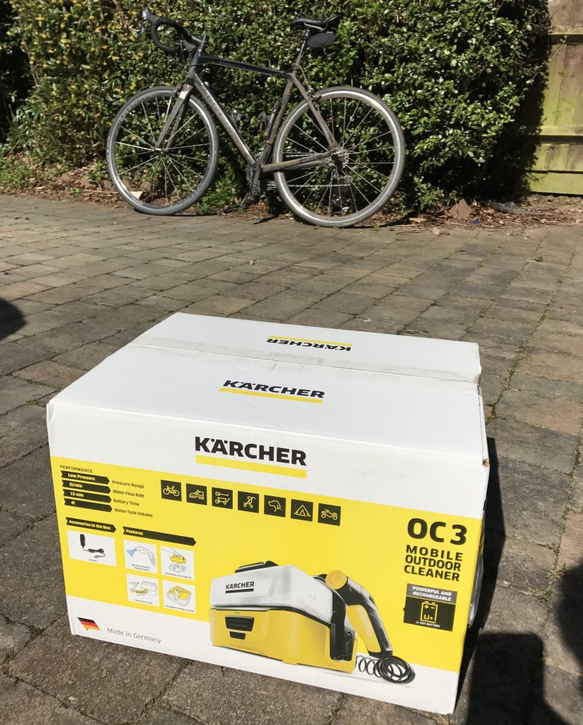 Kärcher OC3 Mobile Outdoor Cleaner - The Box
