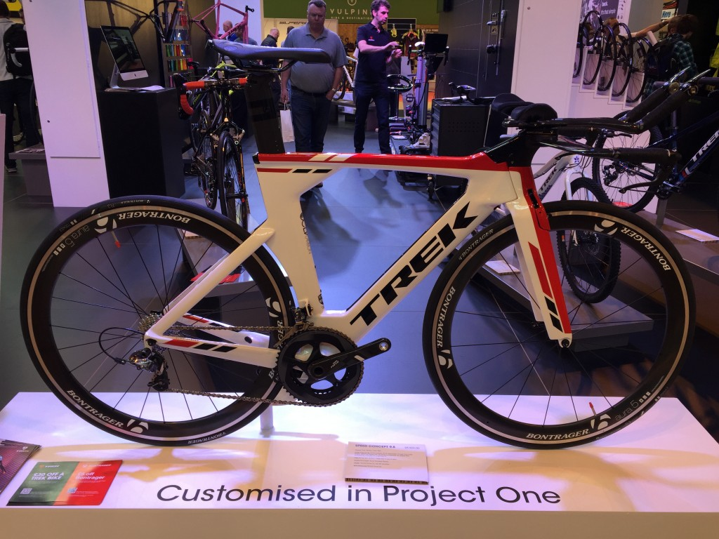 Trek Speed Concept 9.8 Project One - The Cycle Show 2014