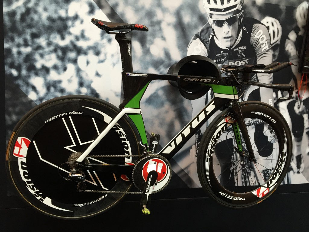 Vitus Chrono TT - The Cycle Show 2014