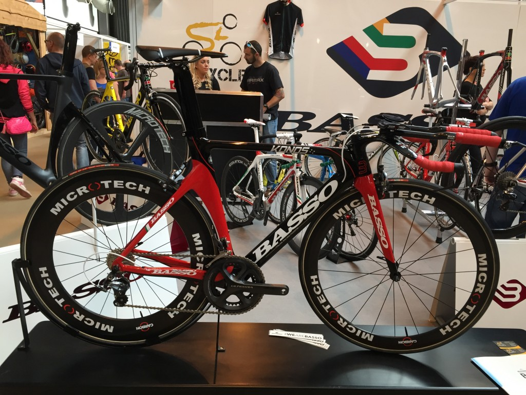 Basso Konos Triathlon Bike - The Cycle Show 2014