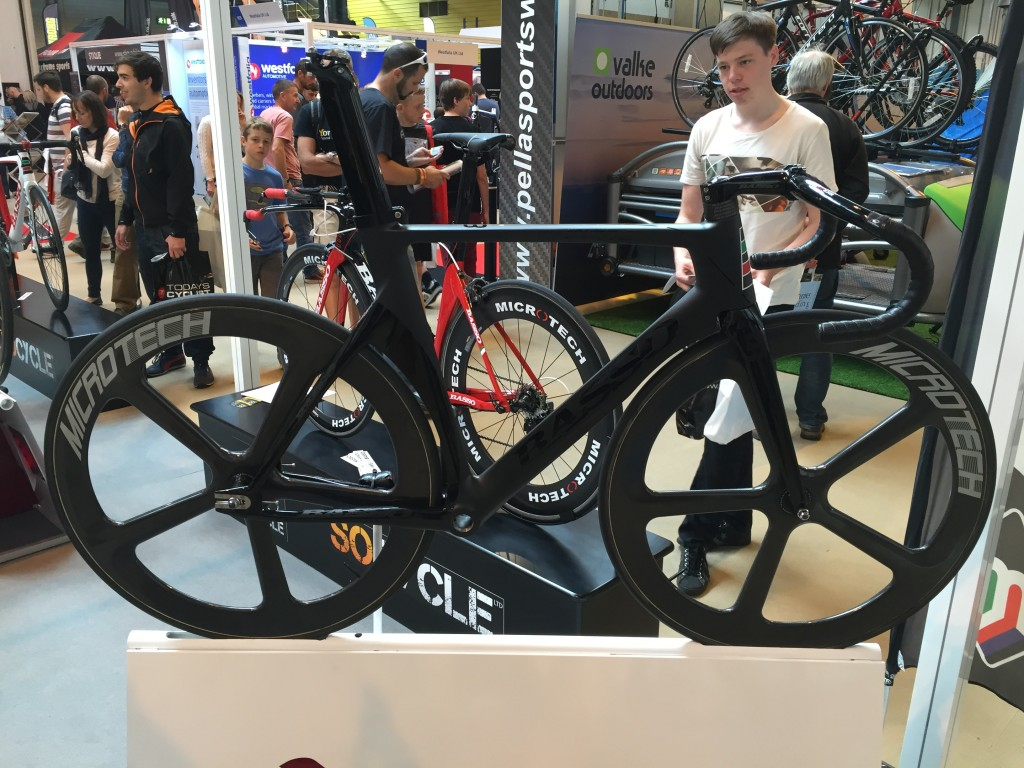Basso Pista Track bike - The Cycle Show 2014