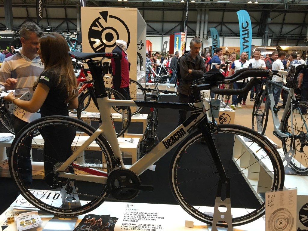 Beaconfell BF55 Triathlon Bike - The Cycle Show 2014
