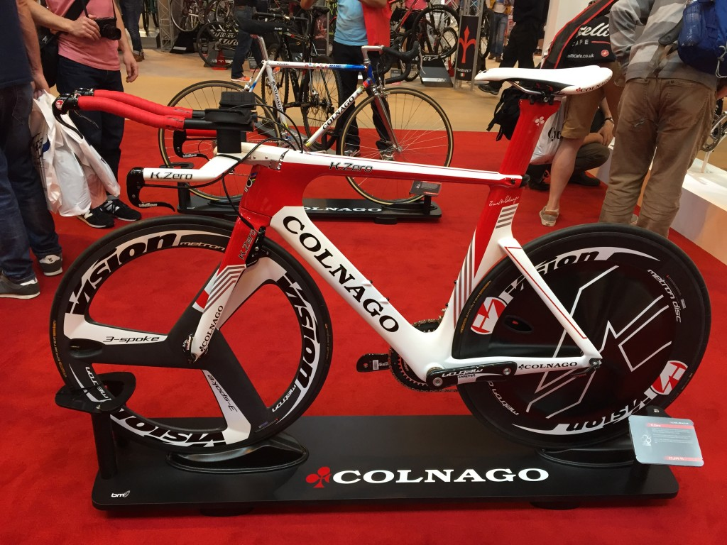 Colnago K.Zero Time Trial and Triathlon Bike - The Cycle Show 2014