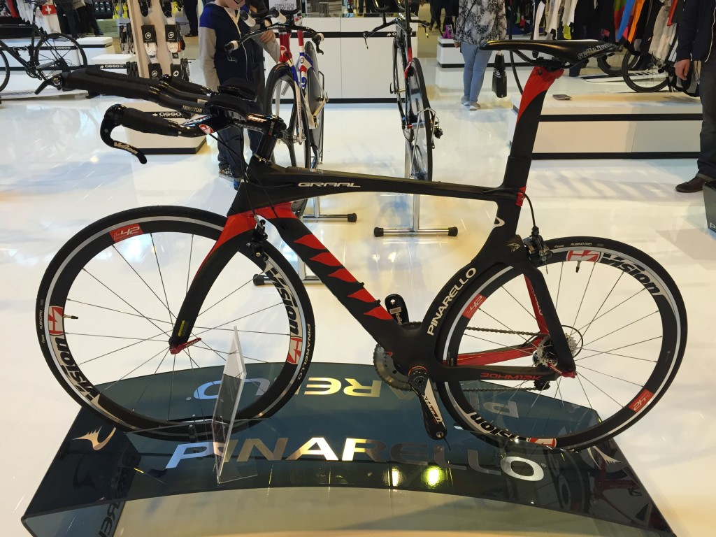 Pinarello Graal Triathlon Bike - The Cycle Show 2014