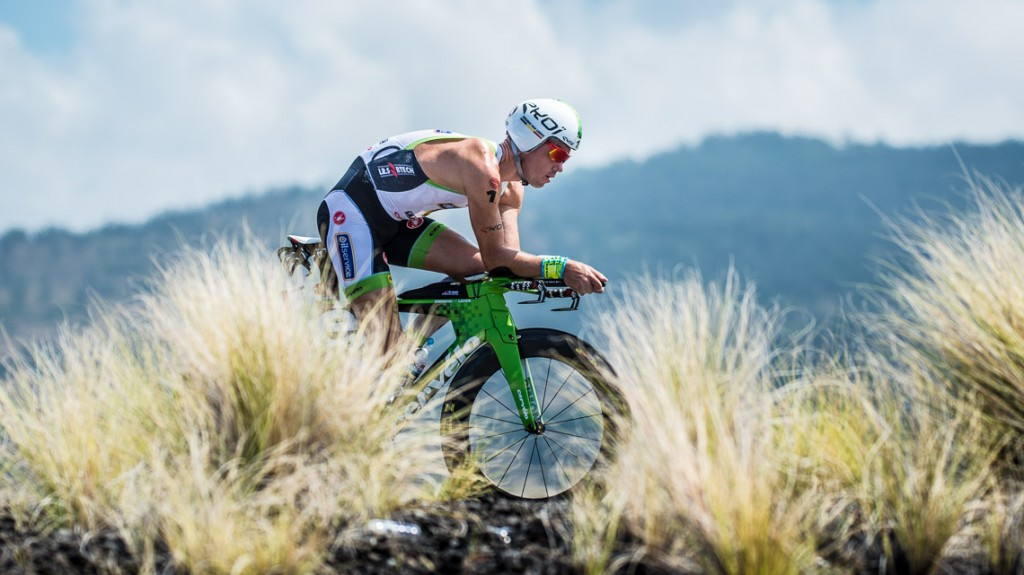 Frederick Van Lierde Bike - Ironman 2014 World Championship