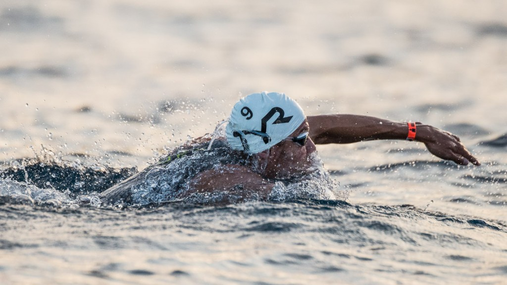 Jan Frodeno Swim Exit - Ironman 2014 World Championship