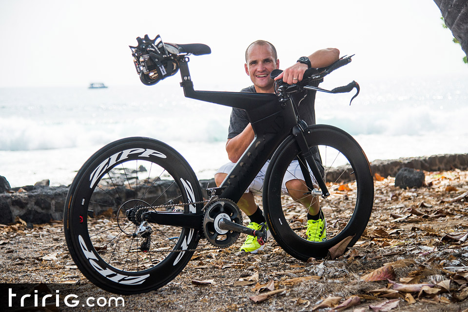Maik Twelsiek Dimond Bike - Ironman 2014 World Championship