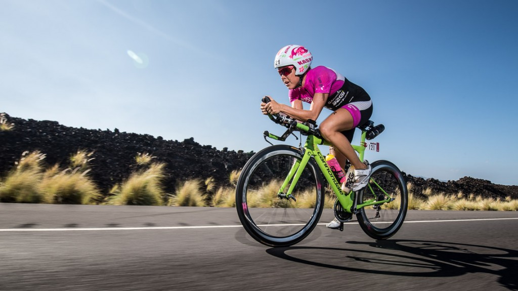 Michelle Vesterby Bike - Ironman 2014 World Championship