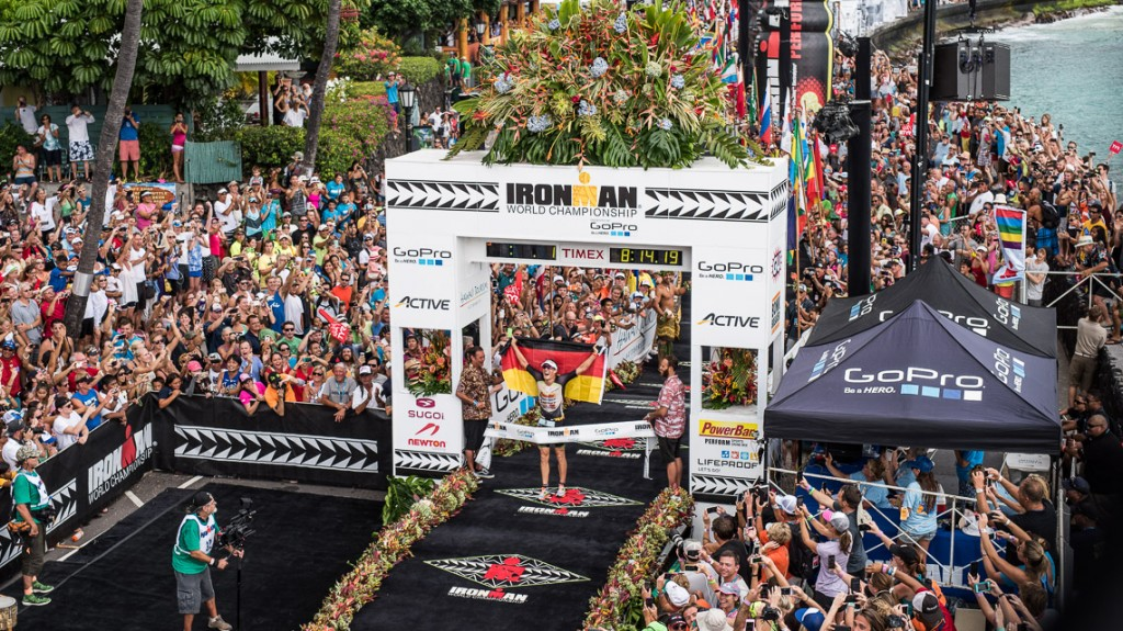 Sebastian Kienle Wins the Ironman World Championship 2014