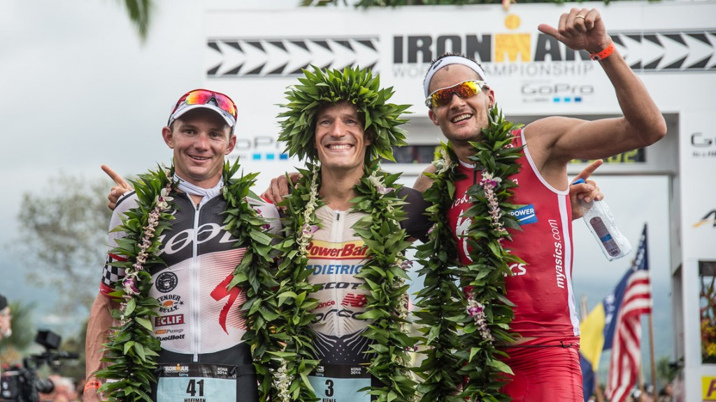 Ironman 2014 World Championship Top 3 Men