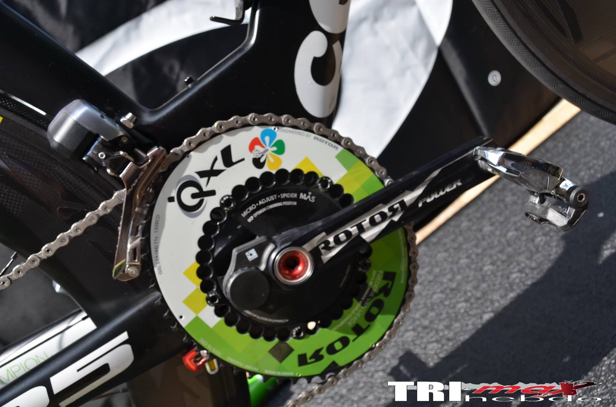 Frederik Van Lierde - Custom Cervelo P5 Rotor QXL and Power meter