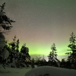 The Northern Lights in Lapland