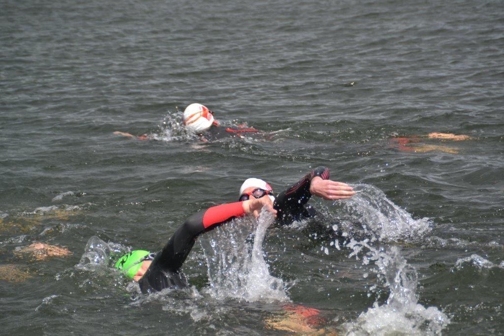 Triathlon England Open Water Training Day - Racing Starts