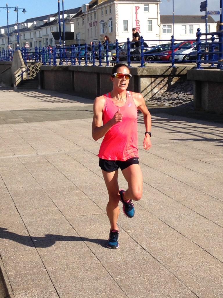 Helen Jenkins - Porthcawl Parkrun August 15th 2015 - Photo Emma Barraclough