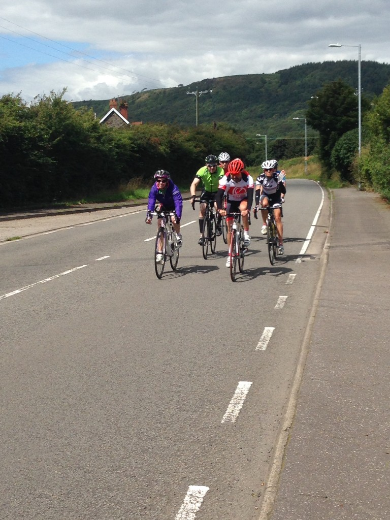 On the bike with Helen Jenkins - Photo Courtesy of Emma Barraclough