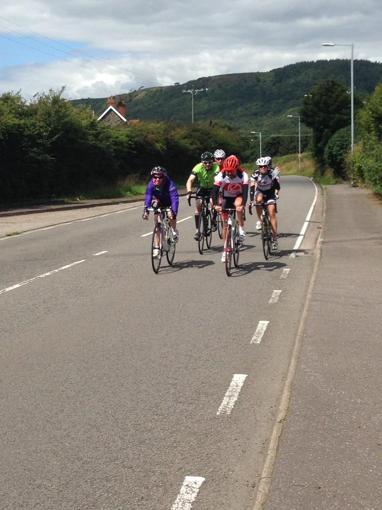 On the bike with Helen Jenkins - Photo Courtesy of Emma Barraclough
