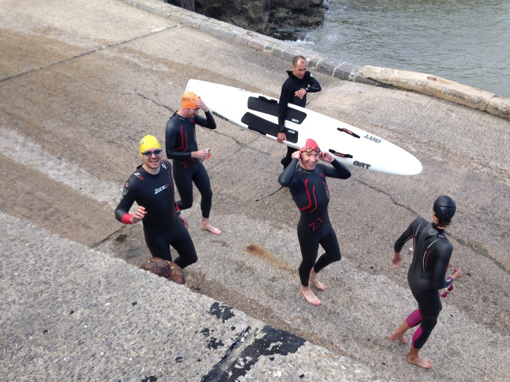 First Ocean Swim with Helen Jenkins - Photo Courtesy of Emma Barraclough