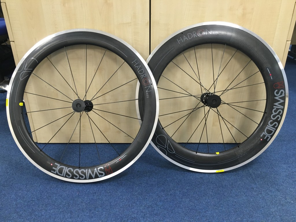 SwissSide Hadron 625/800+ Wheels