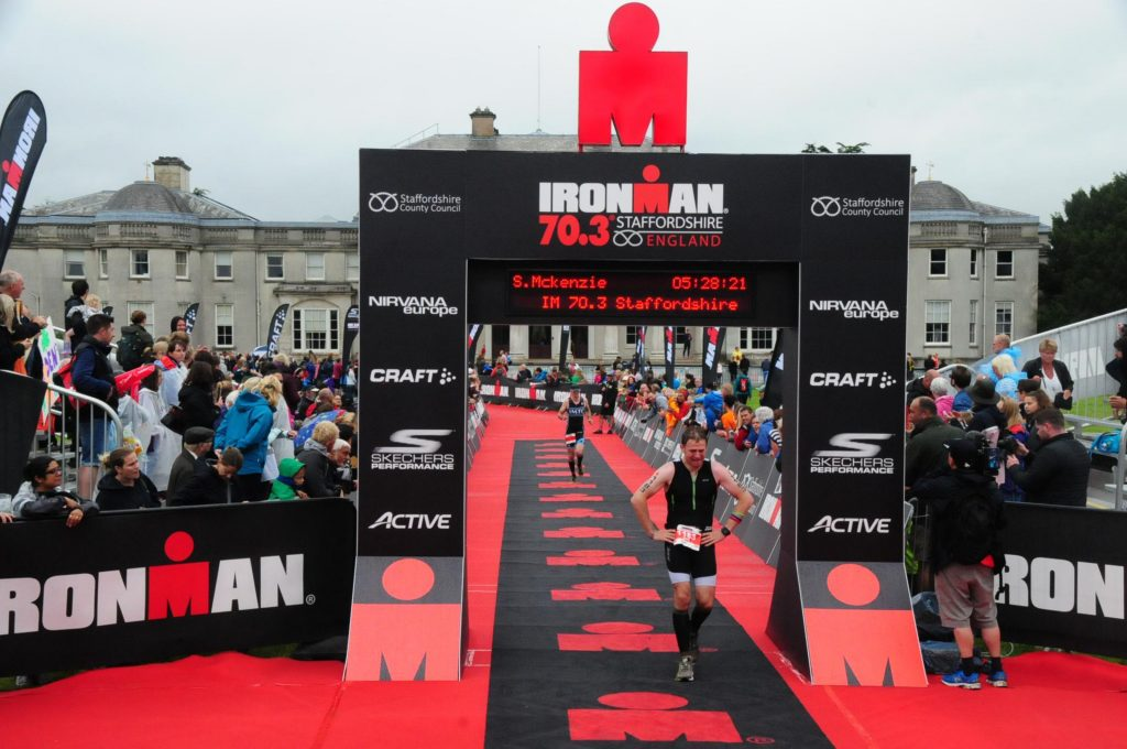 Ironman 70.3 Staffordshire Finish Line