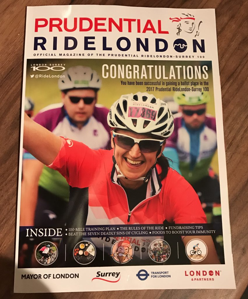 RideLondon Success