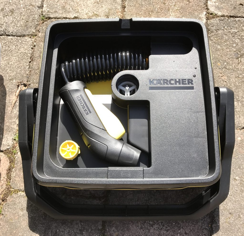Kärcher OC3 Mobile Outdoor Cleaner - Self Contained Tool Storage