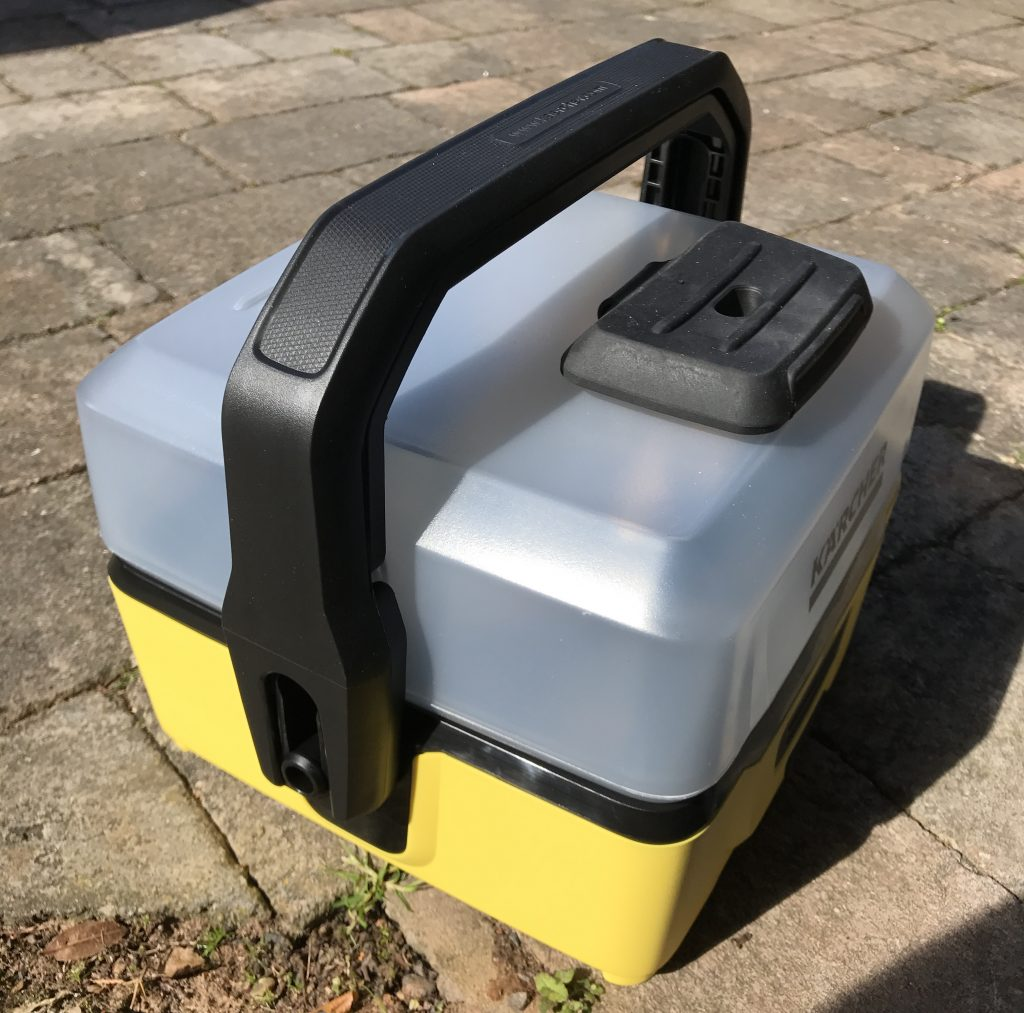 Kärcher OC3 Mobile Outdoor Cleaner - Three Quarter Angle