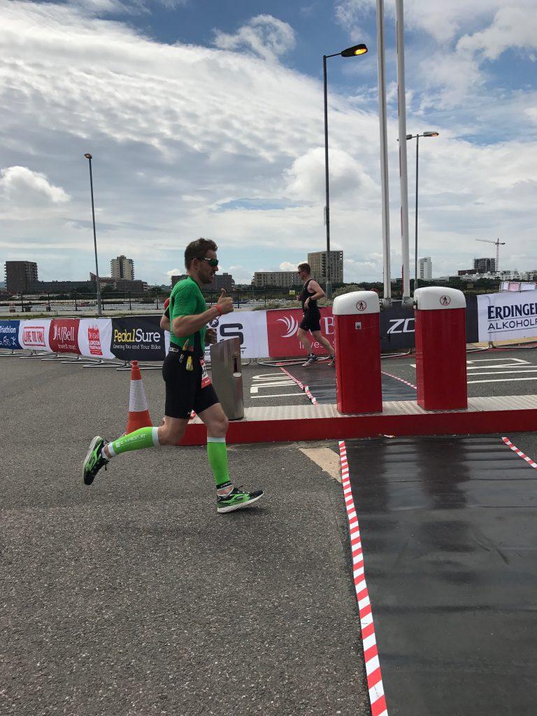 The London Tri - Run Course