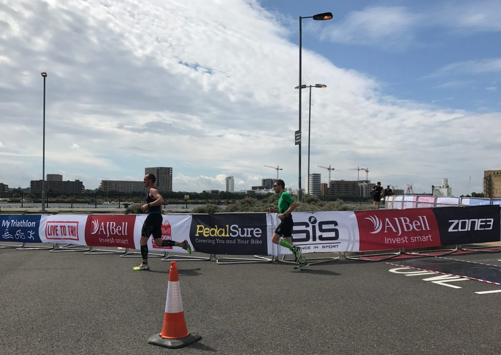 The London Tri - Run Course